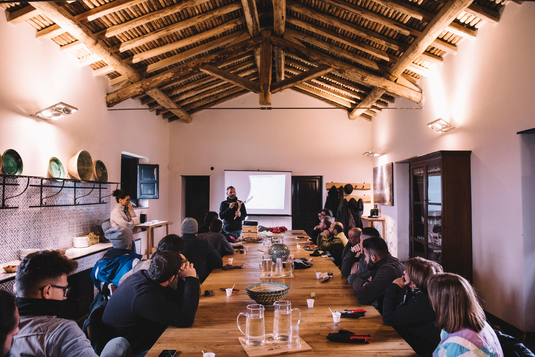 Lezione in aula | Planeta | Passopisciaro | Sicilia | Italy